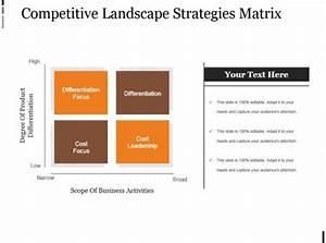 20555948 Style Hierarchy Matrix 4 Piece Powerpoint