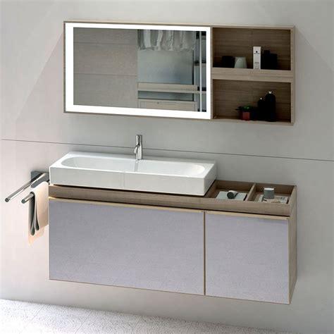 Modern Bathroom Mirrors South Africa by Geberit Acanto Vanity Unit With Slim Basin Bathrooms