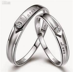 Affordable Matching Wedding Bands Sets White Design