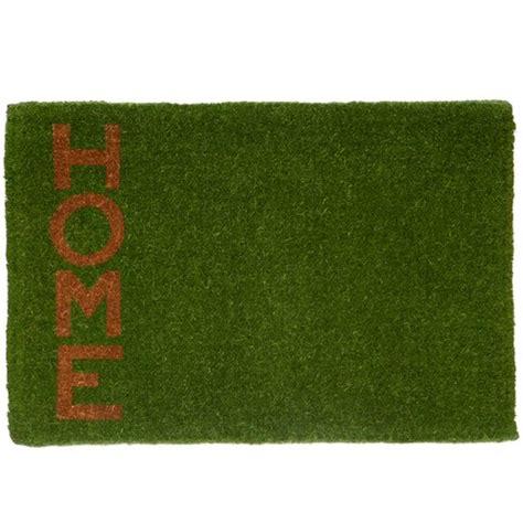 Green Doormat by Green Home Coir Doormat Temple Webster