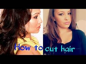 How To Cut Hair Layers Easy Way YouTube