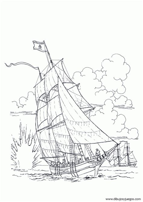 Velas De Barcos Para Colorear by Dibujo De Barcos Con Velas Para Colorear 049 Dibujos Y