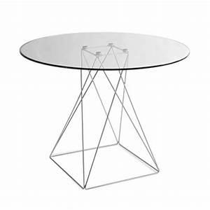 Tisch Rund Glas : moderner tisch rund tischplatte aus glas 100 cm tische bartische modern stil m bel ~ Frokenaadalensverden.com Haus und Dekorationen