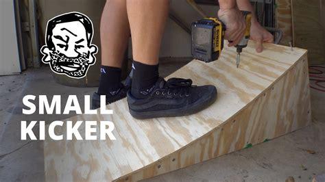 Lets Build A Portable Kicker Ramp For Bmx Or Mtb Bici