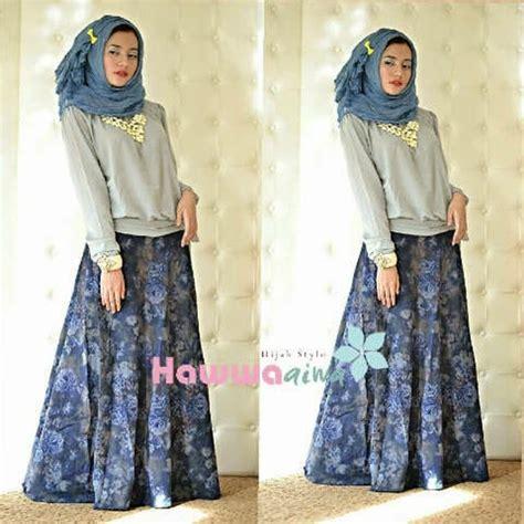 baju muslim   zara jeans set  hawwa aiwa