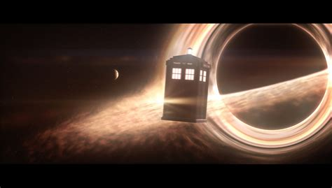 Interstellar Black Hole Meets TARDIS 2K (Element 3D/After ...
