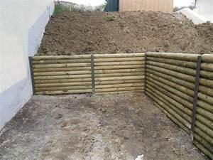 Comment Retenir La Terre Dans Une Pente : comment faire un sout nement les solutions jardinier pro ~ Melissatoandfro.com Idées de Décoration