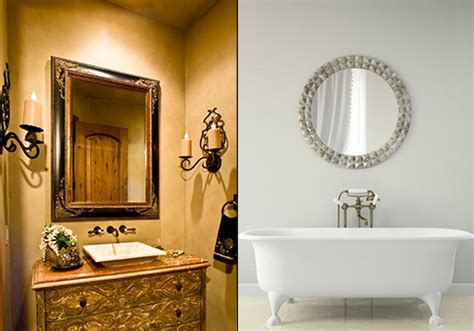 Antique Bathroom Vanity With Mirror by Selecting A Bathroom Vanity Mirror