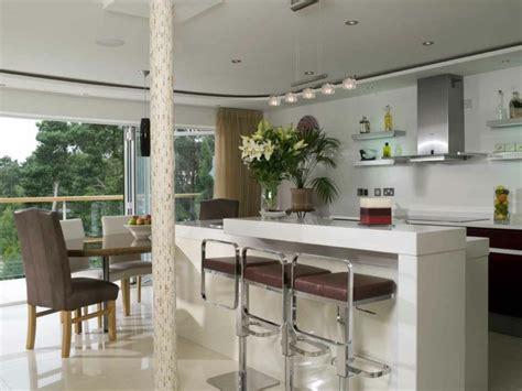 cuisine ouverte ilot aménager une cuisine ouverte sur salle à manger