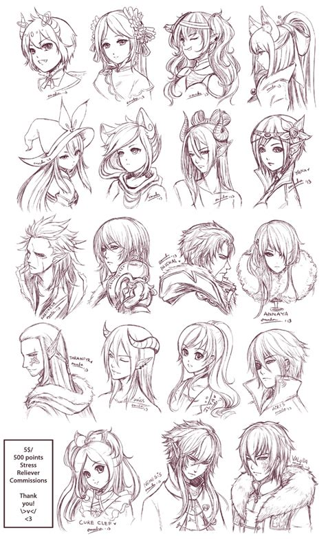 anime hair styles anime hairstyles trends hairstyle