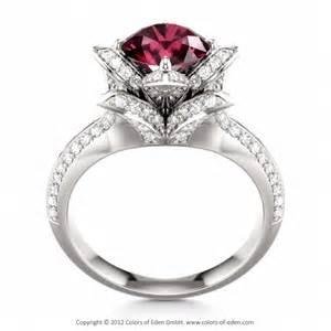 lotus flower wedding ring lotus engagement ring engagement ring engagement rings