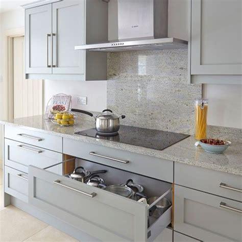 grey kitchen marble splashback kitchen decorating beautiful kitchens housetohomeco