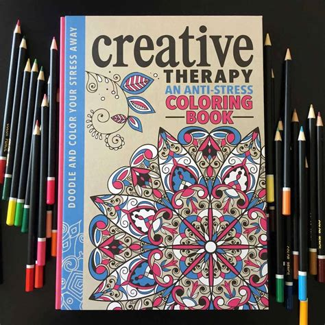 anti stress coloring book  grown ups
