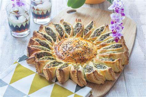 recettes cuisine corse tarte soleil epinard poulet fromage cuisine addict