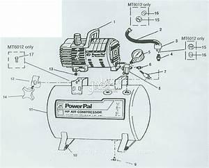 Campbell Hausfeld Mt5019 Parts Diagram For Air