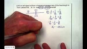 Diverging Lens Equation Solver