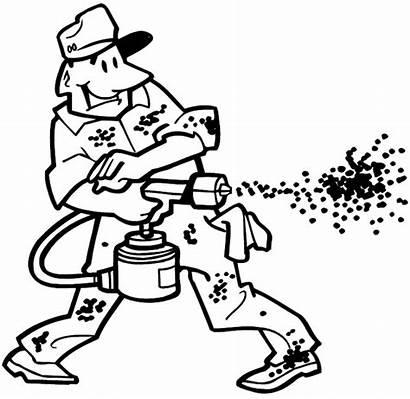 Painter Spray Painters Decals Vinyl Sticker Customize