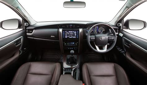toyota fortuner interior launched  australia