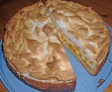 Kuchen Mit Quark Und Eischnee  Beliebte Urlaubstorte