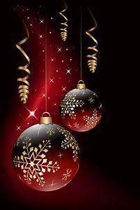 Red white christmas background free vector download ...