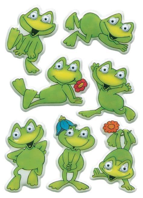 sticker herma magic lustiger frosch wackelaugen pgbl