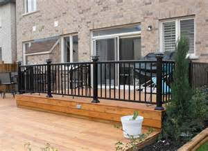 aluminum deck railing systems 3 inch x 3 inch with solar
