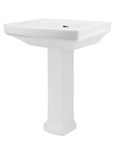 gerber brianne pedestal sink hinsdale 4 quot centers standard bathroom sink with pedestal
