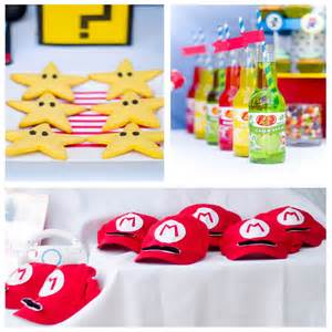 Super Mario Kart Birthday Party Ideas