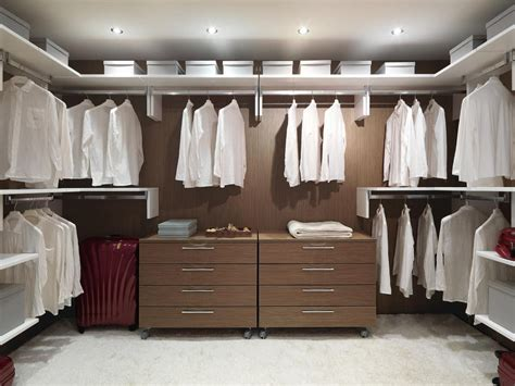 modular and practical walk in closet for residential