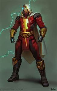 Concept art of Shazam from Injustice: Gods Among Us by ...