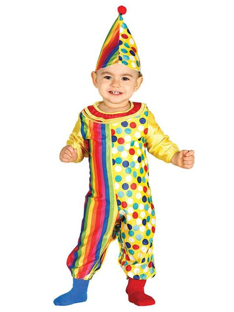 jumpsuit clown baby circus fancy dress costume infant