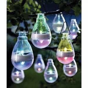 Deco Jardin Pas Cher : lampes solaires color es suspendre d co jardin pas ~ Premium-room.com Idées de Décoration
