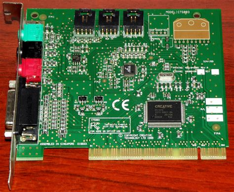 Creative SoundBlaster 128 (CT5803) PCI-Bus ES1373-Chip 1999