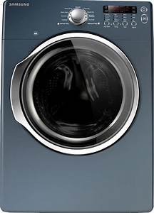 Samsung Dv330aeb 27 Inch Electric Dryer With 7 3 Cu  Ft  Capacity  9 Preset Drying Cycles
