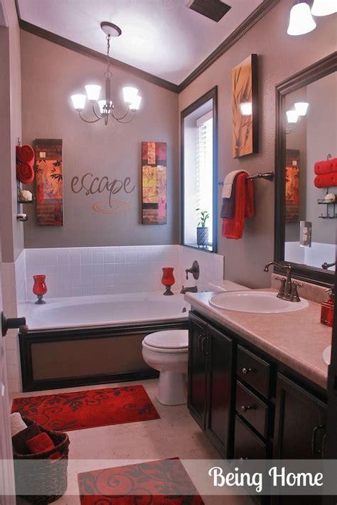 Best 25+ Red Bathroom Decor Ideas On Pinterest  Black