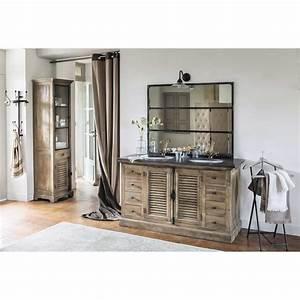 Maison Du Monde Salle De Bain : specchio in metallo effetto anticato 95x120 cargo ~ Melissatoandfro.com Idées de Décoration