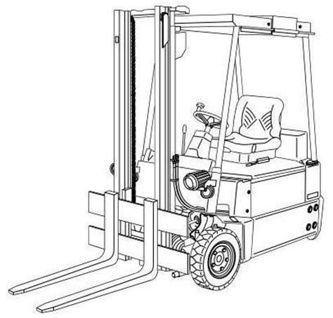 Linde Electric Forklift Truck Type Explosion Protected