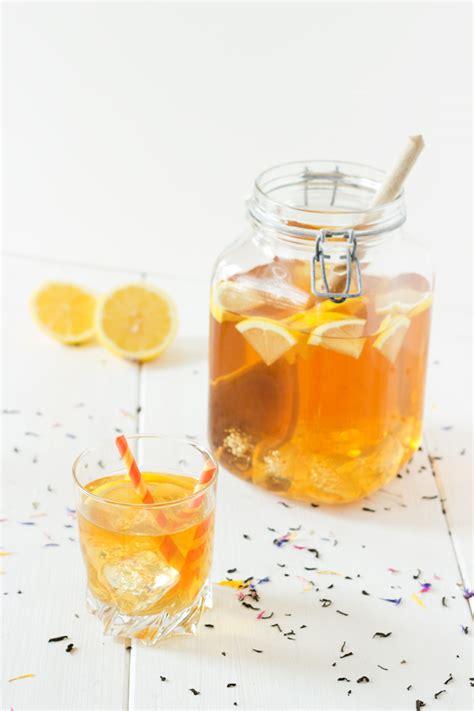 couvrir un canapé recette thé froid citron maison