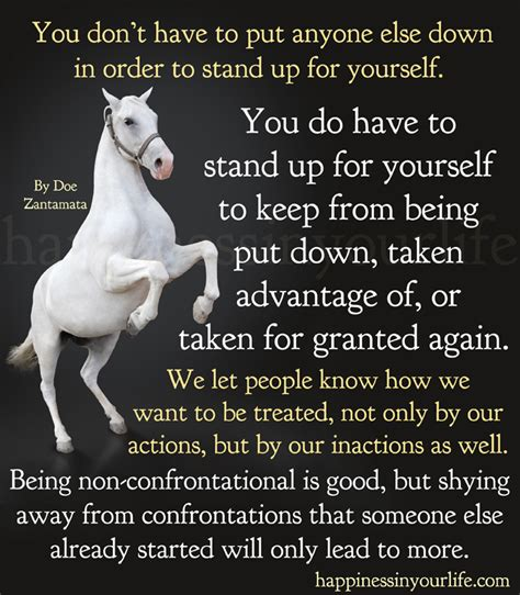 Courage To Stand Up For Yourself Quotes