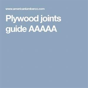 Plywood Joints Guide Aaaaa