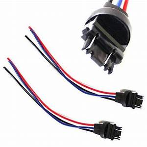 Ijdmtoy 3156  3157 Male Adapter Wiring Harness For Car