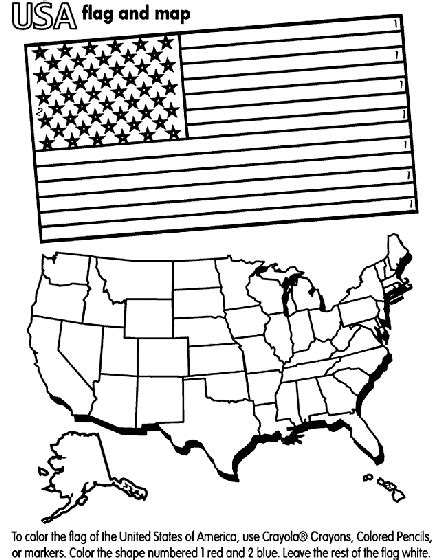 united states  america coloring page crayolacom