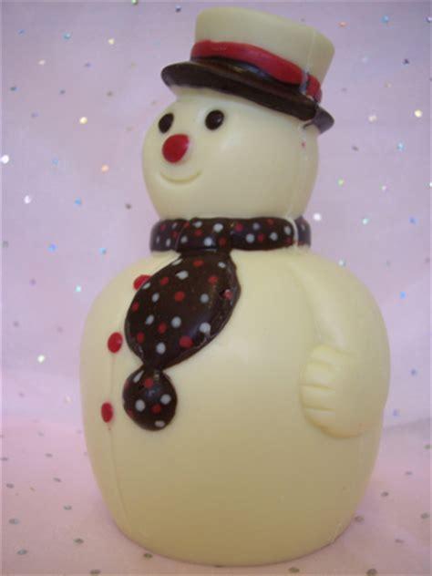 chocolate house chocolate christmas snowman