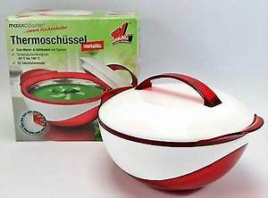 Thermoschüsseln Mit Deckel : 3 st ck thermosch ssel mit deckel set 1 x 1800ml 1 x ~ Watch28wear.com Haus und Dekorationen