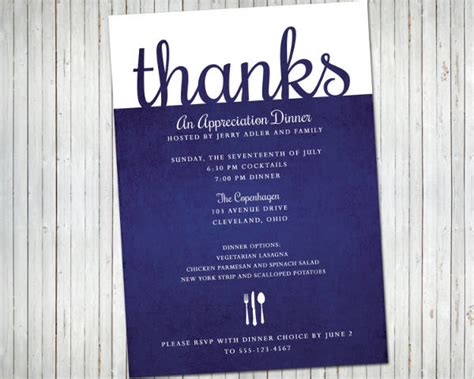 14+ Formal Dinner Invitations  Psd, Word, Ai, Publisher