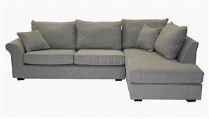 grey fabric contemporary sectional sofa With grey sectional sofas