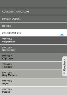 battleship gray paint office color house shopping list