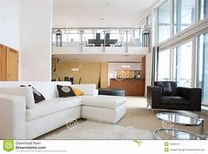 interieur ouvert moderne d39appartement de plan image stock With photo interieur appartement moderne