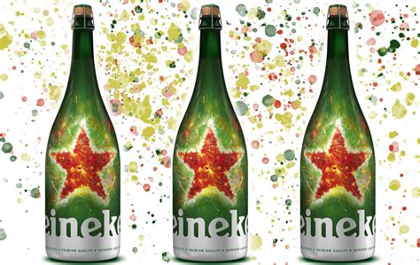 heineken christmas bottle heineken s new magnums will you jolly wasted whiskey riff