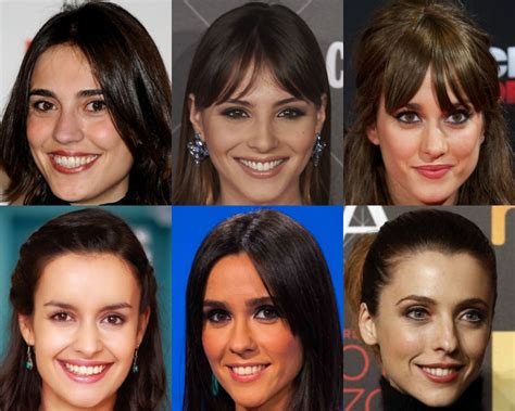 andalusian spain actresses spot